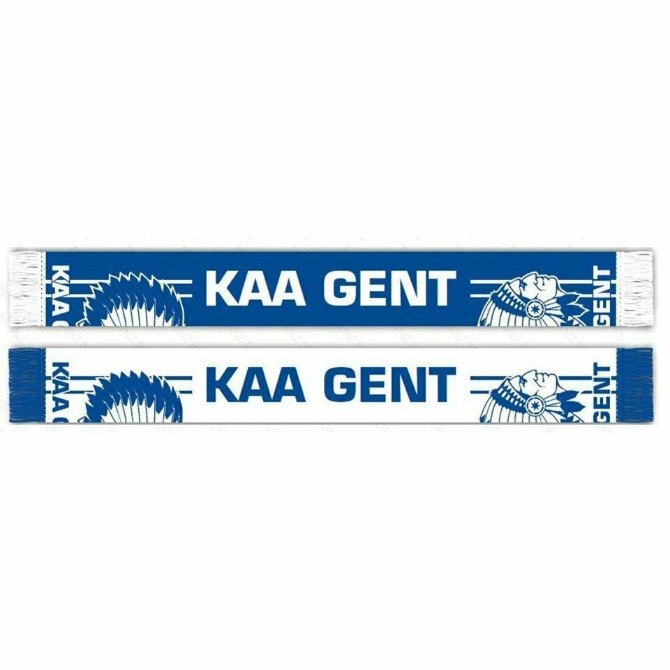 Craft KAA Gent Sjaal Logo Royal/wit