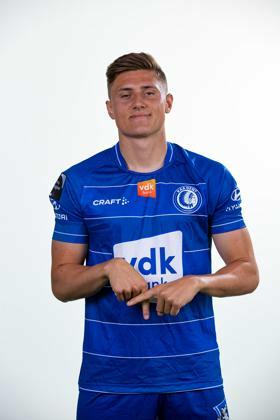 Craft KAA Gent 21-22 Home Shirt team blue/white
