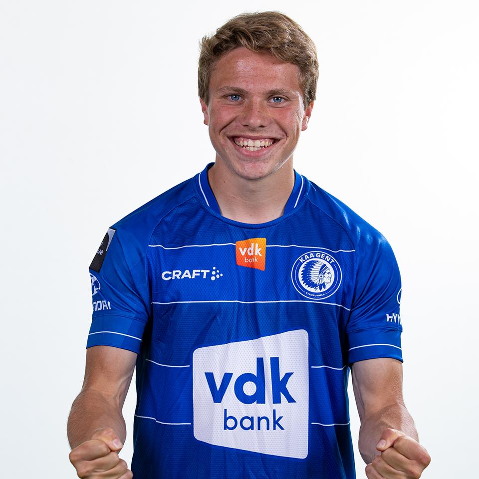 Craft JR KAA Gent 21-22 Home Shirt team blue/white