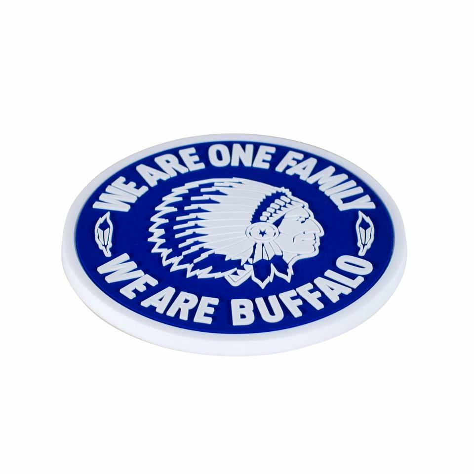 Craft KAA Gent Magneet WE ARE ONE FAMILY (rond)