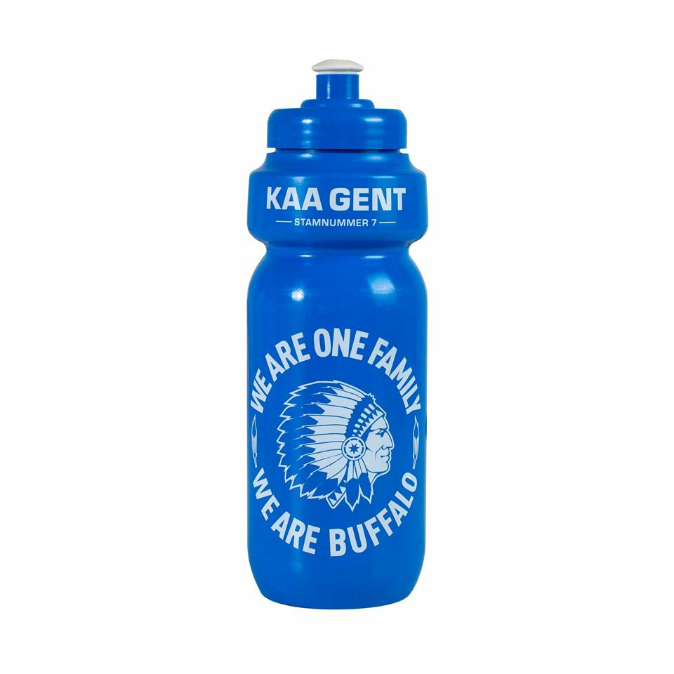 Craft KAA Gent Bidon Blauw/wit