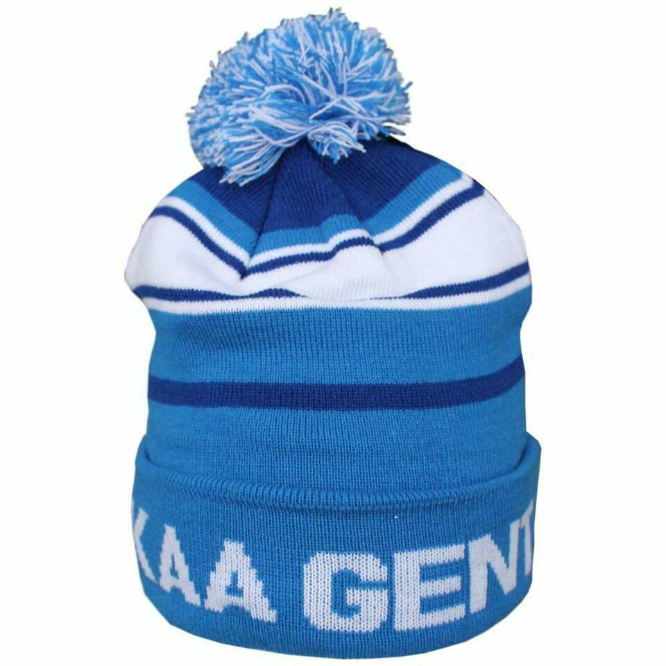 Craft KAA Gent Beanie Pompon Blauw/wit