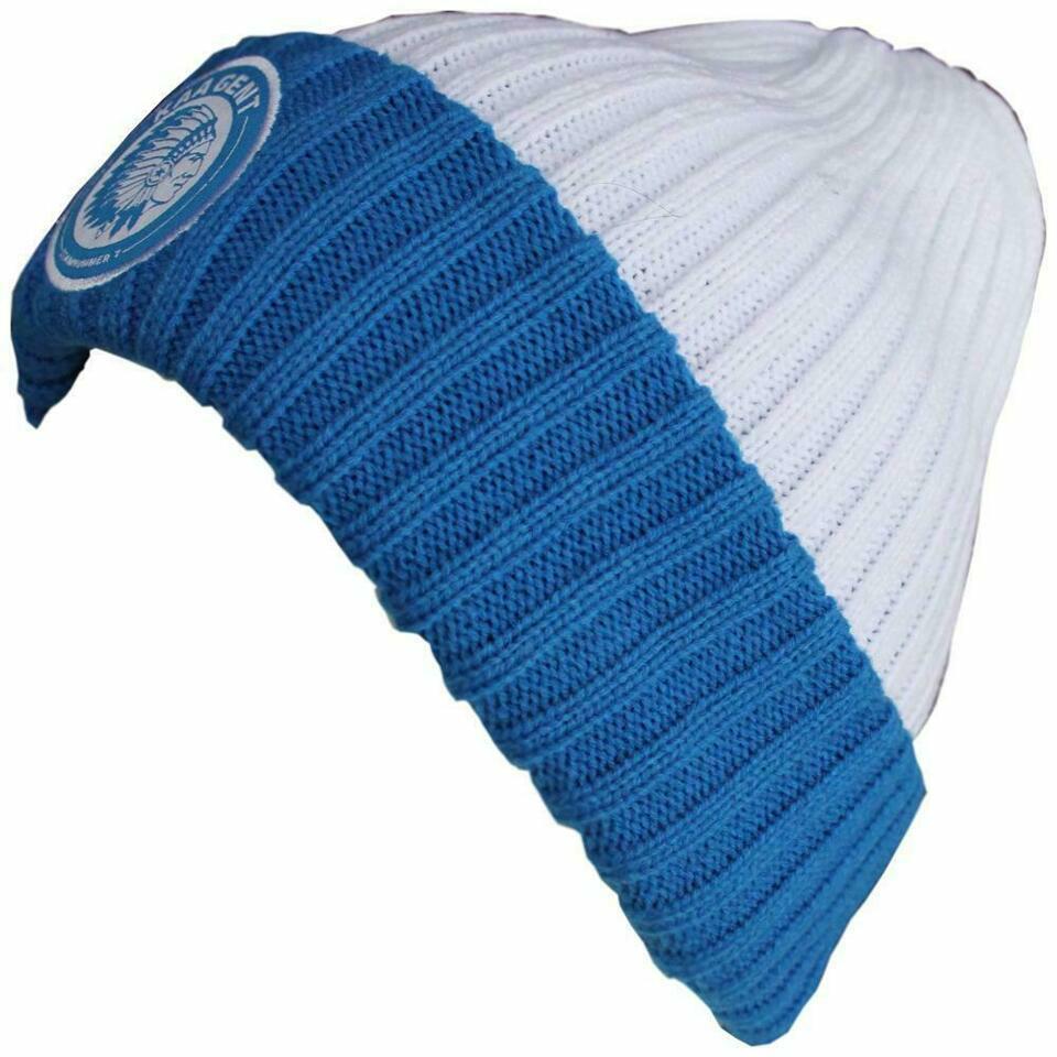 Craft KAA Gent Beanie Wit/blauw