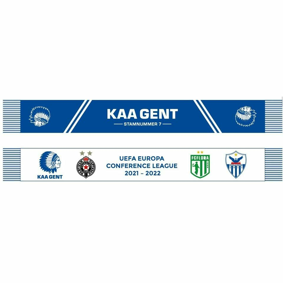 Craft Kaa Gent 21-22 Conference League Sjaal