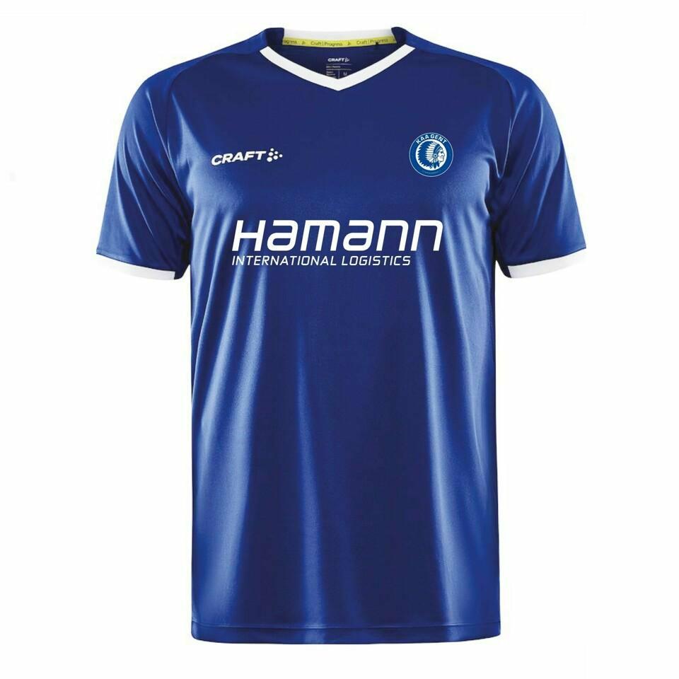 Craft KAA Gent 21-22 Conference League Shirt Cobalt