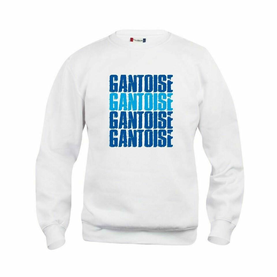 Craft KAA Gent Sweater GANTOISE Wit/Royal/Sky Blue