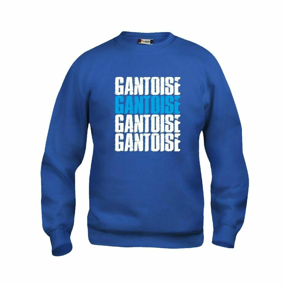 Craft KAA Gent Sweater GANTOISE Royal/Wit/Sky Blue