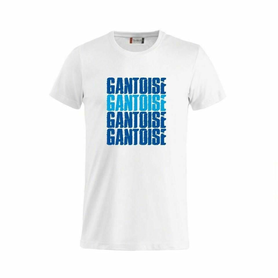 Craft KAA Gent T-Shirt GANTOISE Wit/Royal/Sky Blue